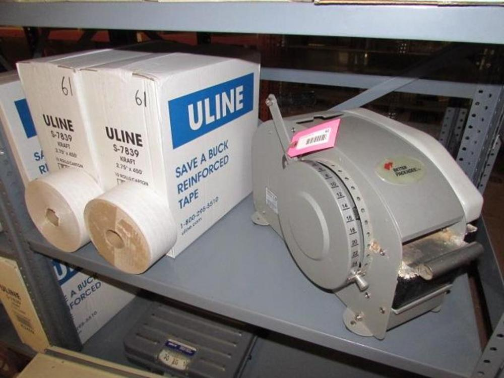 Better Pack 333Plus Manual Tape Dispenser, w/ (2) Boxes