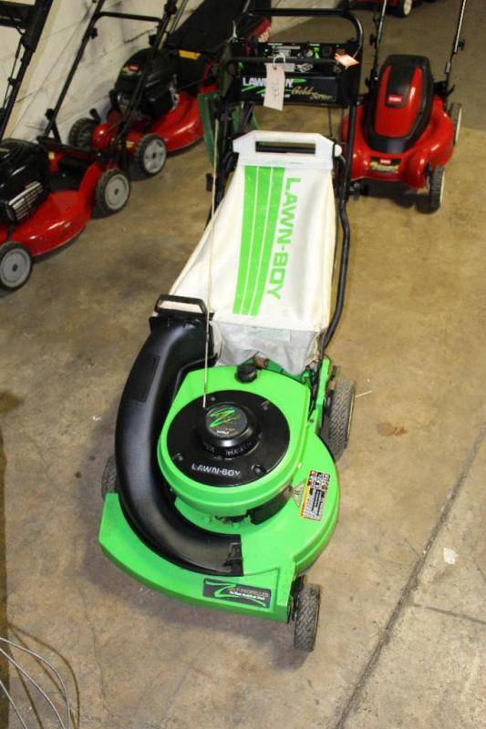 Lawn Boy 10546 2 Cycle Aluminum Self Propelled Electric Start Mower Cur Price 75