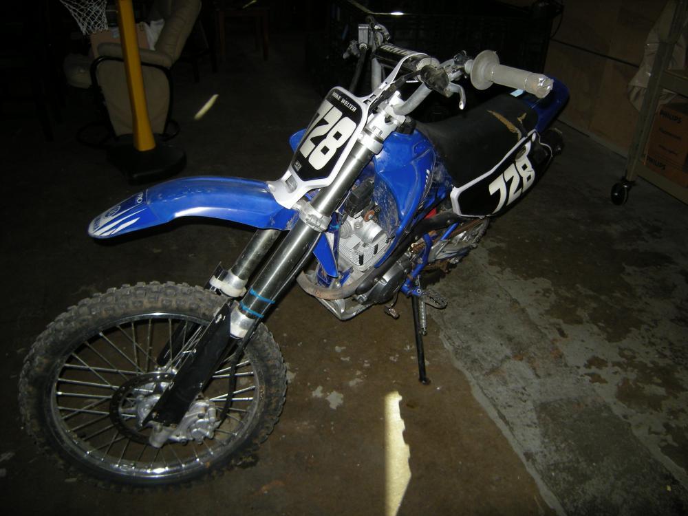 2005 Yamaha YZ Dirt Bike, VIN: 9C6CE14Y550002203, 125cc - Current