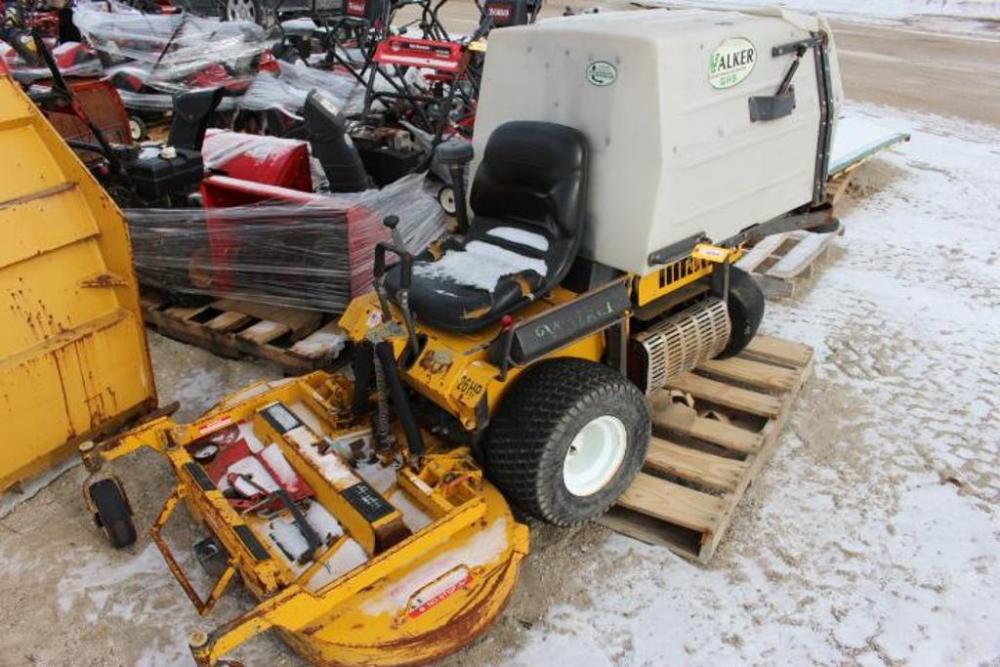 Walker Zero Turn Commercial Riding Mower, Kohler Command Pro