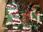 Approx. (50) Hanging Ornaments: Christmas Tree Caravan & Bannister Stocking, CAN BE PERSONALIZED