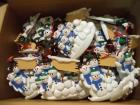 Approx. (49) Hanging Ornaments: Snowman Family, CAN BE PERSONALIZED