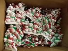 Approx. (45) Hanging Ornaments: North Pole Family, CAN BE PERSONALIZED
