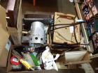 Lot of Misc. Store Returns & Bar Stool Parts, ( Shop Vac Doesn't Work, For Parts Only)