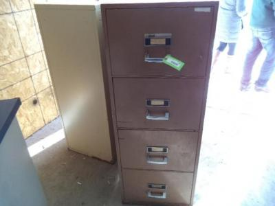 Fireproof Filing Cabinet, No Key