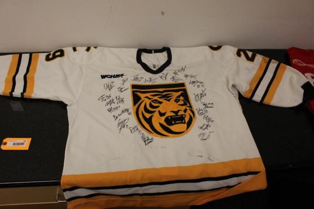 separation shoes b0621 d0376 Colorado College Tigers Hockey Jersey, Autographed ...