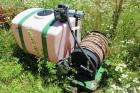 Turbo Turf Hydro Seeding System with Skid Mounted 100-Gallon Poly Tank,