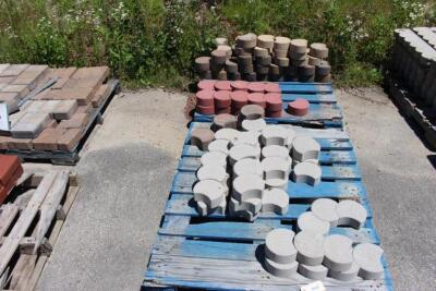 (8) Pallets of Misc. Hardscape Stone & Brick