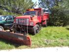 1992 GMC Top Kick SL Dump Truck with Western Plow Setup, Gas Engine, 187,571 Miles Indicated