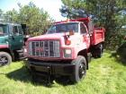 1994 GMC Top Kick Fuel Injection Dump Truck with 10ft. Plow & Tailgate Salter,