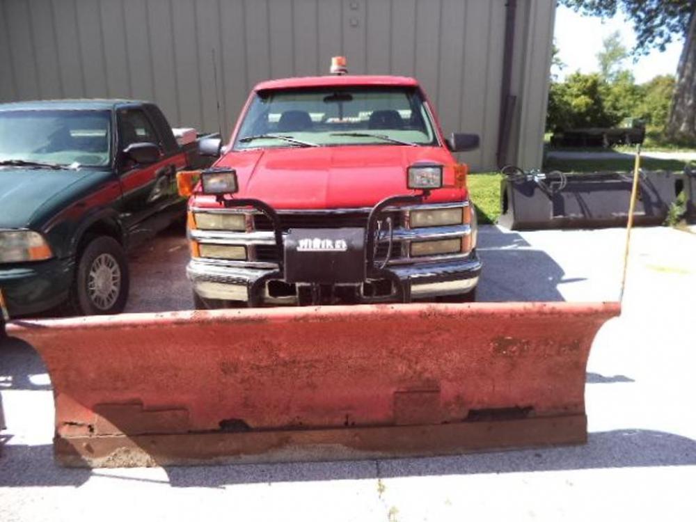 1998 Chevrolet Silverado 2500 Pickup 4x4 Vin 1gcgk24fowz163061