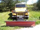 "2000 Jeep Wrangler Sport Utility, 80"" Plow Setup, 4.OL Gas Engine, 133,246 Miles Indicated,"