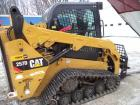 2018 CAT 257D Compact Track Loader, 3,000# Capacity, 73 HP Diesel Engine, EROPS,